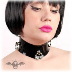COLLAR LATEX TRIPLE O