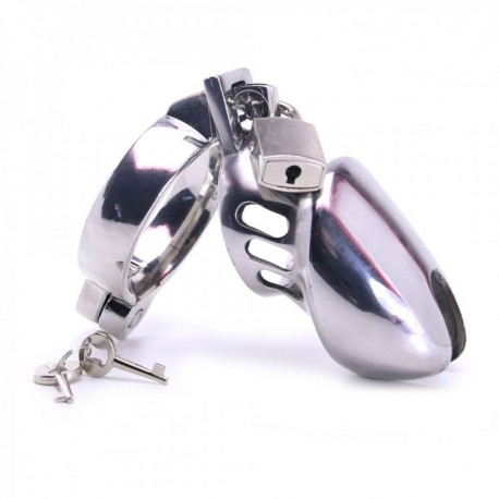 CHASTITY HEAD CAGE.
