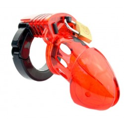 JACKED UP CHASTITY RED