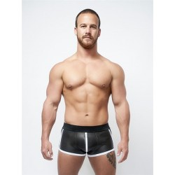 MISTER B NEOPRENE SHORTS FULL ZIP