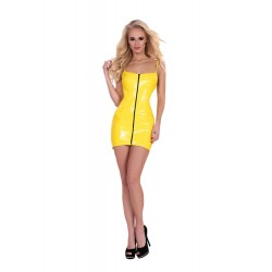 VESTIDO DATEX AMARILLO