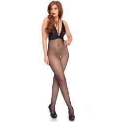 LEG AVENUE CROTCHLESS BODYSTOCKING