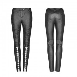 PUNK RAVE punk long stretch trousers WK-343