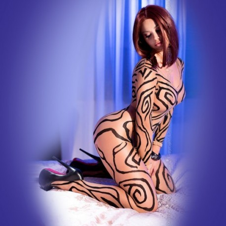 BODYSTOCKING LINEAS FELINAS