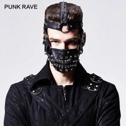 PUNK RAVE Bozal con remaches