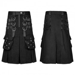 PUNK RAVE KILT METAL WARRIOR