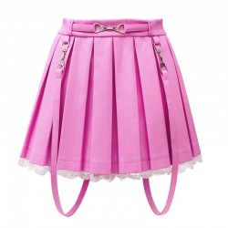 FALDA LITTLE POLIPIEL ROSA