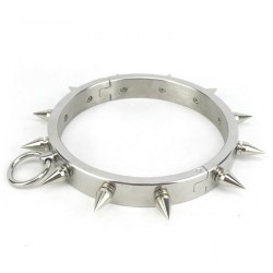 STEEL SPIKED DOG COLLARS
