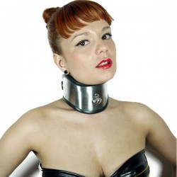 COLLAR BDSM ACERO