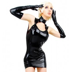 MINI VESTIDO LATEX 16