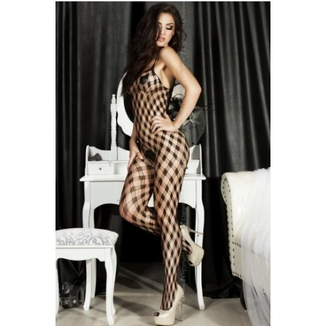 BODYSTOCKING RED ANCHA